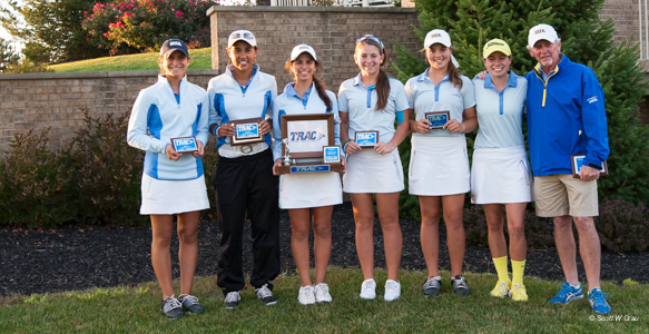 St. Ursula Academy captured its third consecutive TRAC golf title.